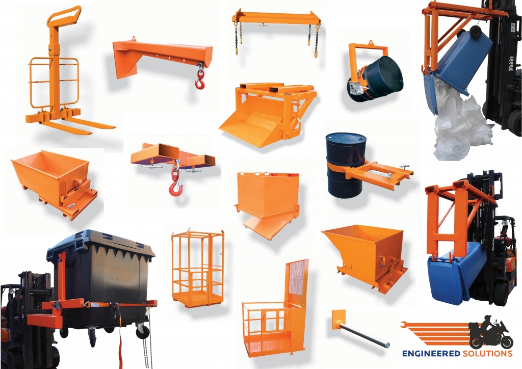 forklift attachments by engineered solutions projects